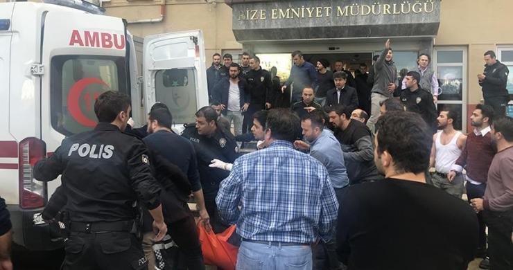 Rize Emniyet Müdürlüğündeki silahlı saldırı
