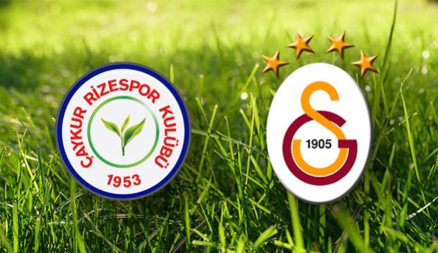 Tudorla ilk maç! Çaykur Rizespor-Galatasaray