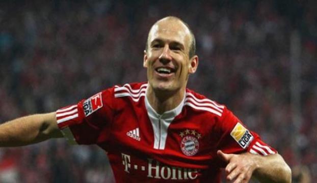 Robben bir yıl daha Bayern Münihte
