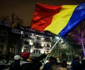 Romanya'da protesto