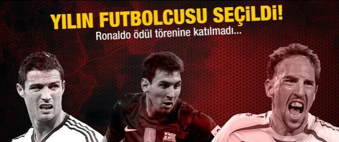 Avrupa'da yılın futbolcusu seçildi!