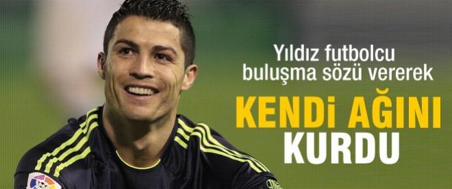 Ronaldo'dan bir yenilik daha