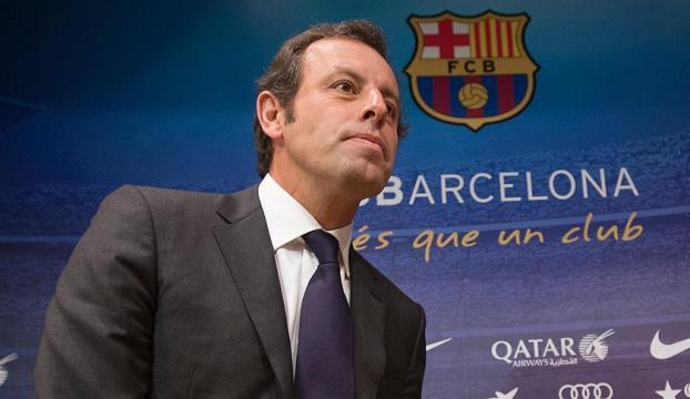"""Eski Barcelona Başkanına """"kara para"""" gözaltısı"""