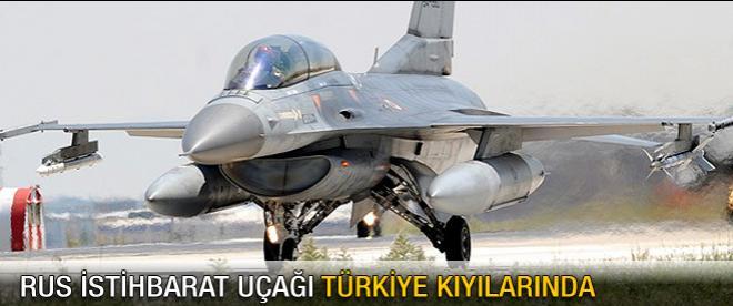 Rus uçağına F-16'lardan önlem