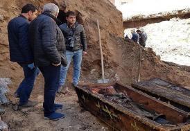 Ardahan'da işgalci Rus subayının çürümemiş cesedi bulundu!