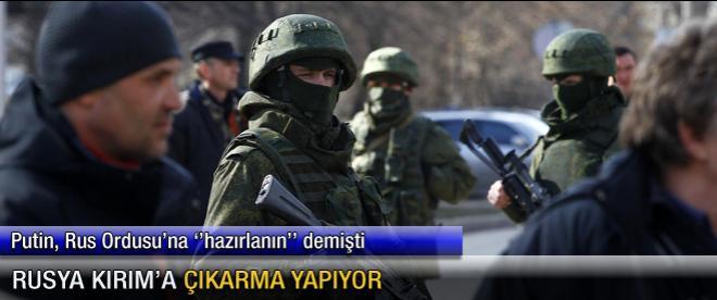 Rusya Kırım'a çıkarma yapıyor
