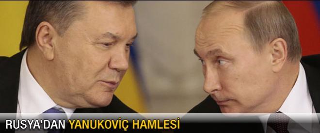 Rusya'dan Yanukoviç hamlesi