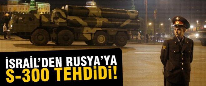 İsrail'den Rusya ve Suriye'ye tehdit!
