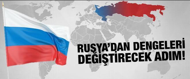 Rusya'dan dengeleri değiştirecek adım!
