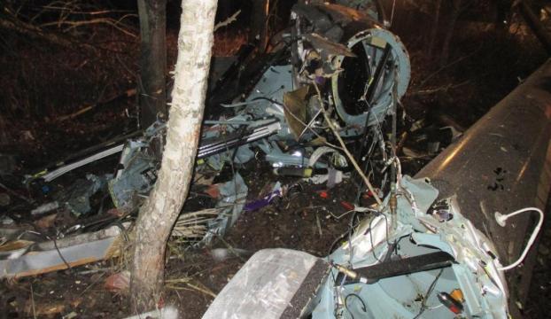 Rusyada helikopter düştü