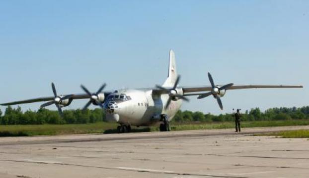 Rusyada kargo uçağı askeri bölgedeki depoların üzerine düştü