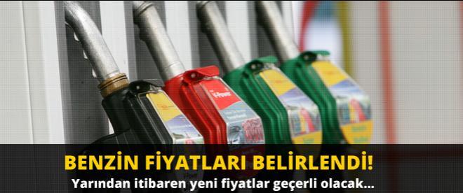 Benzin fiyatları açıklandı!