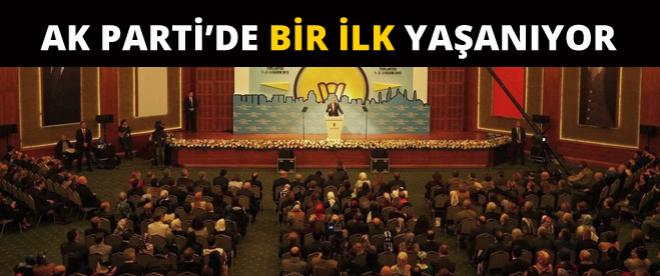AK Parti'de bir ilk yaşanıyor!