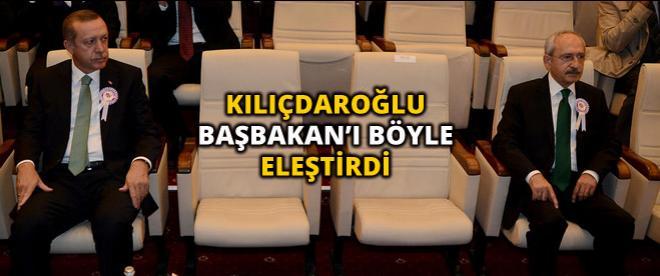 Kılıçdaroğlu'ndan Başbakan'ın tepkisine kritik yorum!