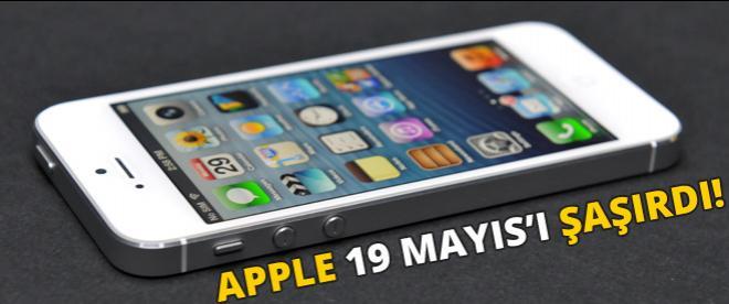 Apple 19 Mayıs'ı şaşırdı!