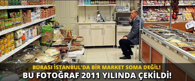 Başbakan'ın market fotoğrafı 2011 yılına ait!