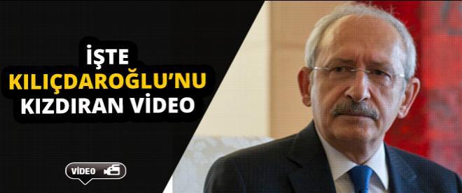 İşte Kılıçdaroğlu'nu kızdıran video!