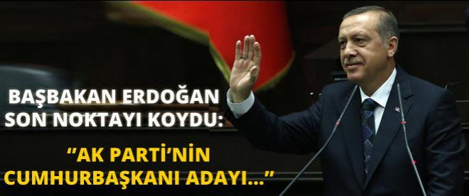 Başbakan Erdoğan'dan flaş Cumhurbaşkanı açıklaması!