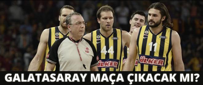TBF açıkladı: Galatasaray maça çıkacak mı?