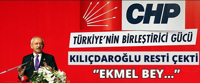 CHP Lideri Kılıçdaroğlu: ''Buna asla izin vermem''