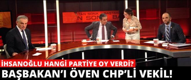 CHP'li vekil Başbakan Erdoğan'a övgüler yağdırdı!