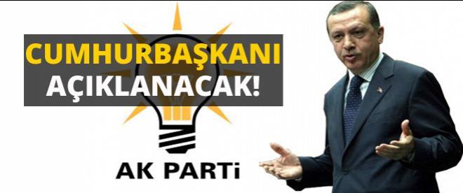 AK Parti Cumhurbaşkanı adayını açıklayacak!