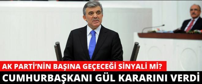 AK Parti'nin başına Cumhurbaşkanı Gül mü geliyor?