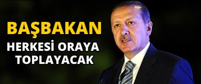 Başbakan Erdoğan Türkiye'nin tüm renklerini buluşturacak!