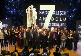 """""""7. Sadri Alışık Anadolu Tiyatro Oyuncu Ödülleri"""""""