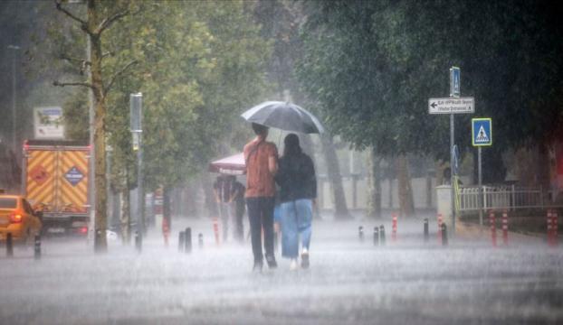Marmarada kuvvetli sağanak uyarısı