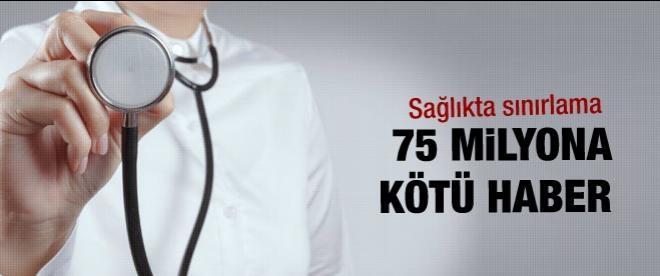 Sağlıkta sigorta hizmetine sınr