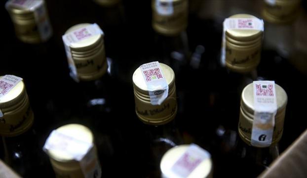 Mersinde sahte içki denetiminde 32 litre etil alkol ele geçirildi