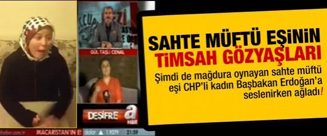 CHP'li 'müftü eşi' Başbakan'a seslenirken ağladı