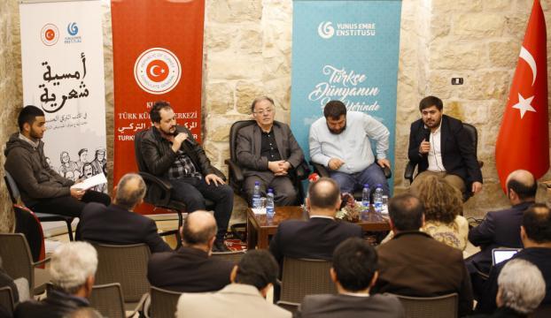 Türk şairler Kudüste Filistinlilerle buluştu