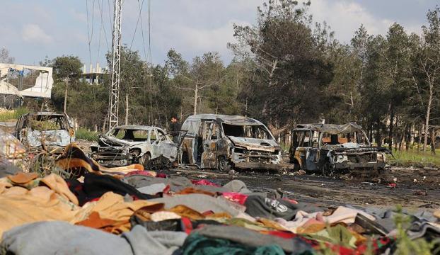 Suriyede tahliye edilenlere bombalı saldırı