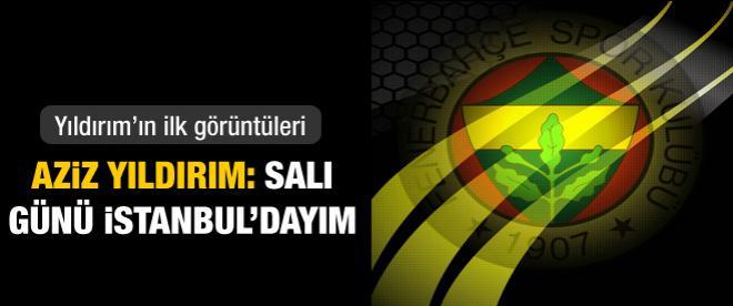 Salı günü İstanbul'dayım!