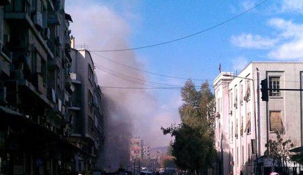 Şamda adalet sarayına intihar saldırısı