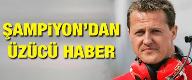 Michael Schumacher kayak pistinde kaza geçirdi