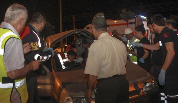 Samsunda feci kaza: 5 ölü, 3 yaralı