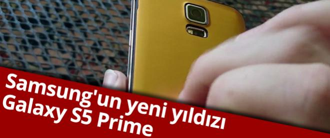 Samsung'un yeni yıldızı: Galaxy S5 Prime