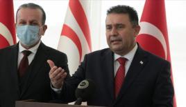 """KKTC Başbakanı Saner: """"Ana vatan Türkiye ile tam bir uyum içindeyiz"""""""