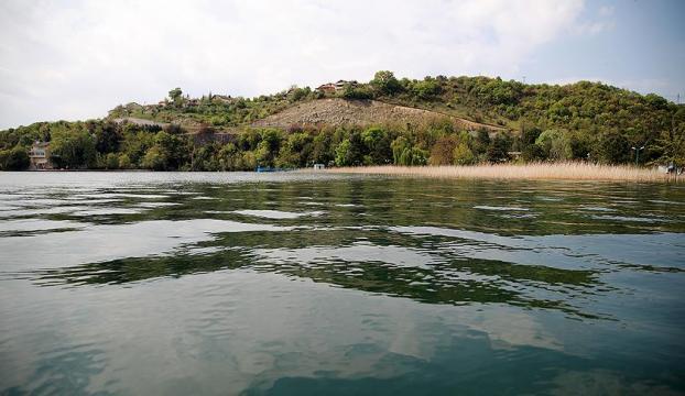 Sapanca Gölü son 5 yılın zirvesinde