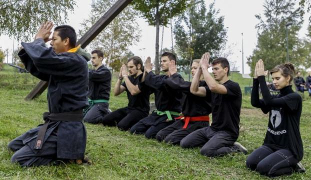 """""""Ninja"""" geleneği, Saraybosnada yaşatılıyor"""