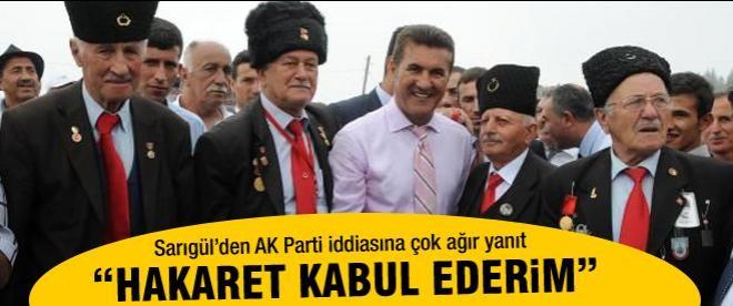 Sarıgül'den AK Parti iddialarına tepki