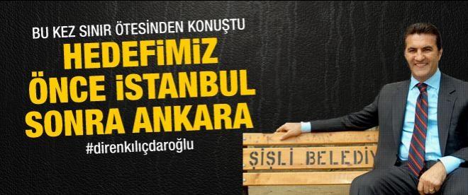 Sarıgül: Hedef önce İstanbul sonra Ankara
