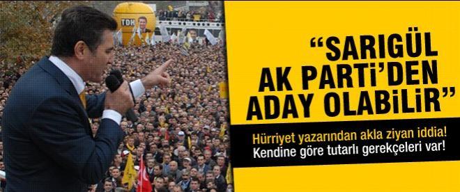 Sarıgül AK Parti'den aday olacak iddiası