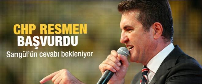 CHP Sarıgül'e resmen başvurdu