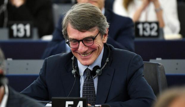 Avrupa Parlamentosunun yeni başkanı Sassoli oldu