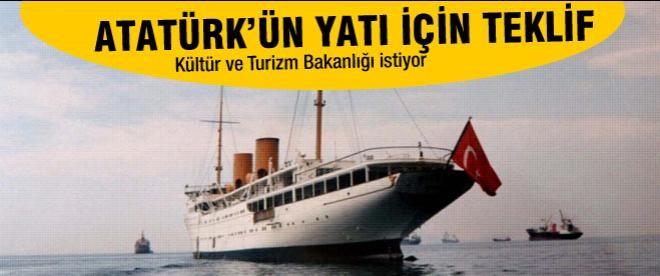 Atatürk'ün yatı Savarona için teklif