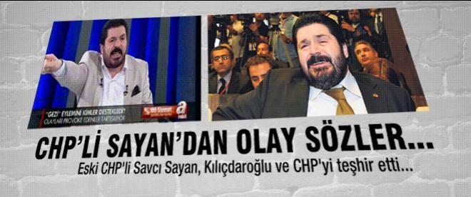 Eski CHP'liden Kılıçdaroğlu hakkında olay sözler